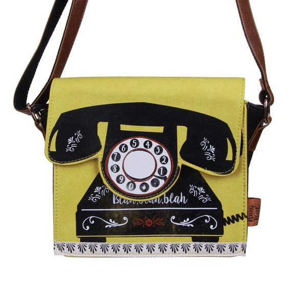 Penny Black Telephone Handbag